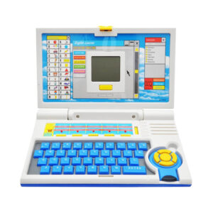 English Learner Educational Laptop Computer With Mouse Toy For Kids-0