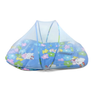 Mosquito Net With Mattress & Pillow L - Blue-0