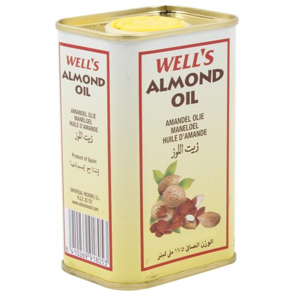 Well's Almond Oil - 400ml (Made In Spain)-5648