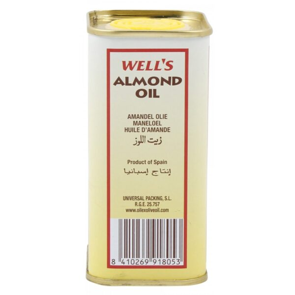 Well's Almond Oil - 400ml (Made In Spain)-5650