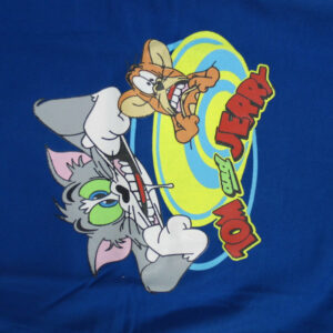 Cucumber Tom & Jerry Print Full Sleeve T- Shirt-5870