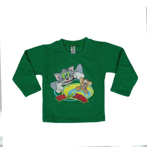 Cucumber Warm Fleece Full Sleeves T-Shirt-5881