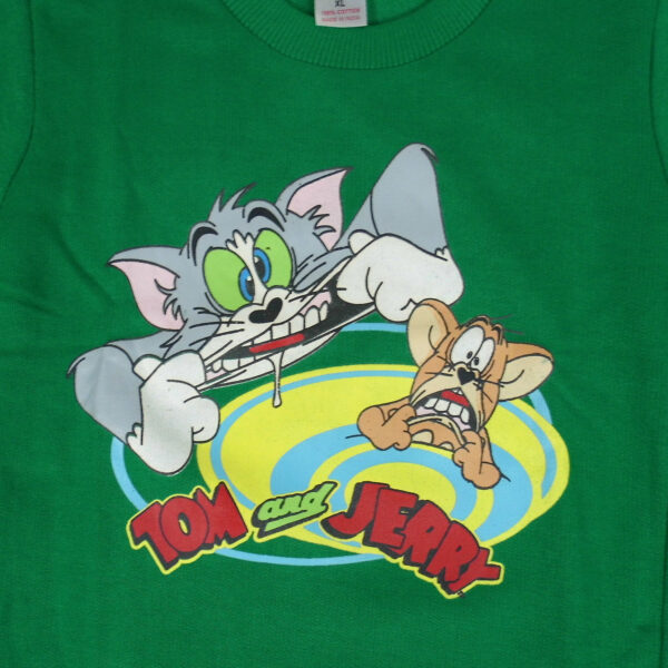 Cucumber Warm Fleece Full Sleeves T-Shirt-5876