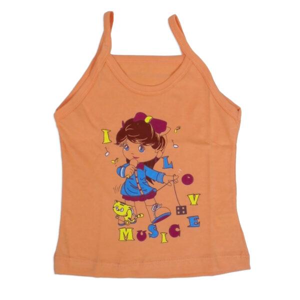 Bodycare Color Vest For Girls Set of 3-6096