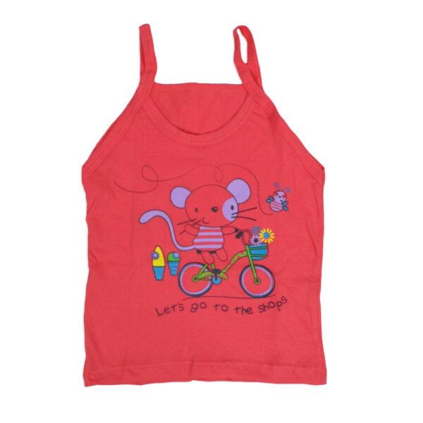 Bodycare Color Vest For Girls Set of 3-0