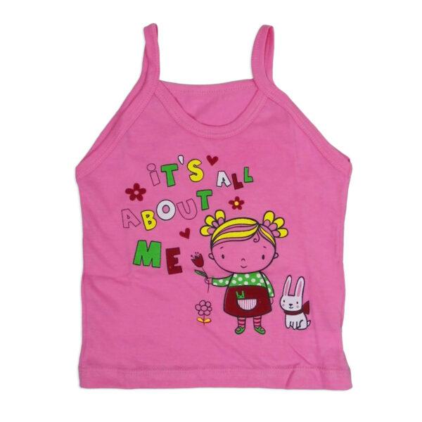 Bodycare Color Vest For Girls Set of 3-6095