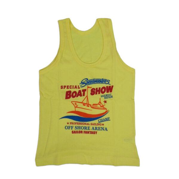 Bodycare Color Vest For Boys Set of 3-6090