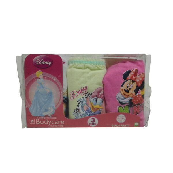 Bodycare Girls Panty Set of 3 -6148