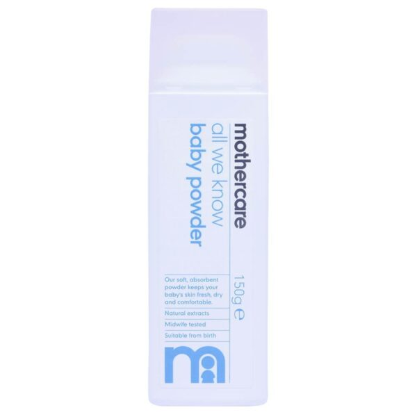 Mothercare All We Know Baby Powder 150g-0