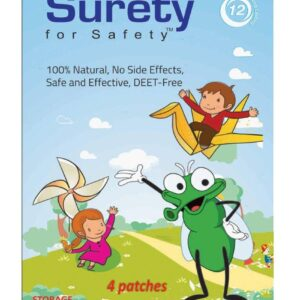 Surety For Safety Mosquito Repellent Patch - 4 Patches-0