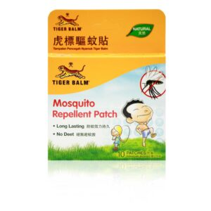 Tiger Balm Natural Mosquito Repellent Patch - 10 Patches-0