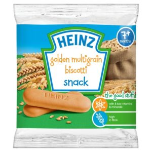 Heinz Golden Multigrain Biscotti Biscuits 60g - 7M+-0
