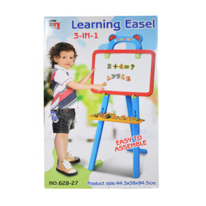 3 In 1 Learning Easel Drawing Set-0