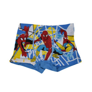 Spider Man Digital Print Swimming Trunk Set Of 3-0