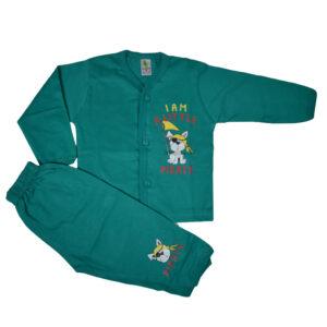 Cucumber Full Sleeves Set - Vest & Pant-0