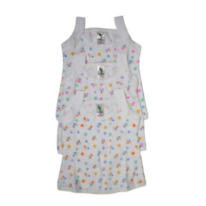 Cucumber Sleeveless Girls Vest Pack Of - 3-0