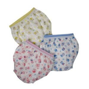 Reusable Diaper Panty Pack of 3 -0