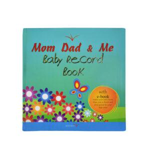 Mom Dad & Me - Baby Record Book-0