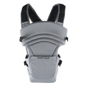 Luvable Friends 2 in 1 Baby Carrier (3-18M) - Grey-0