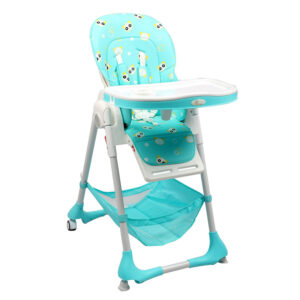R for Rabbit Marshmallow The Smart High Chair - Green-0