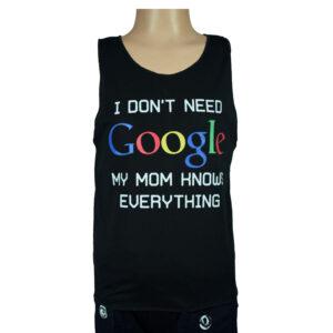 Mom Quotes Kids Trendy Vest - Black-0