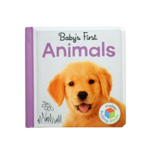 Babys First Animal Learning Book-0