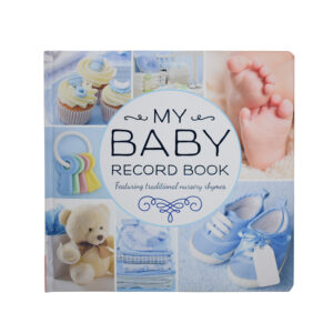 My Baby Record Book - Blue-0