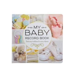 My Baby Record Book - Peach-0