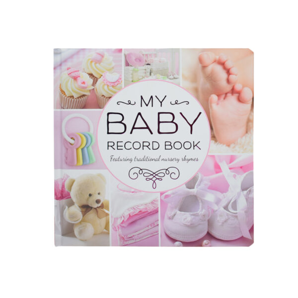 My Baby Record Book - Pink-0