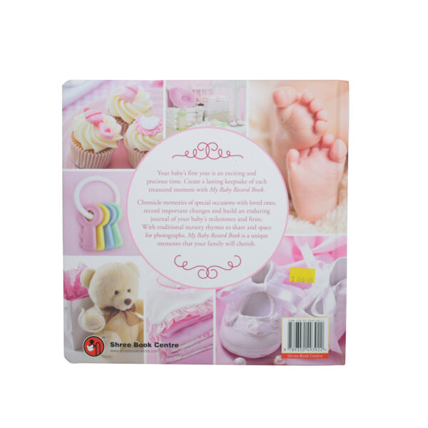 My Baby Record Book - Pink-7775