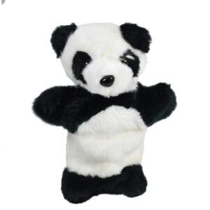 """Babys Word Soft Muppet Plush Toy Panda 10"""" - Black & White-0"""