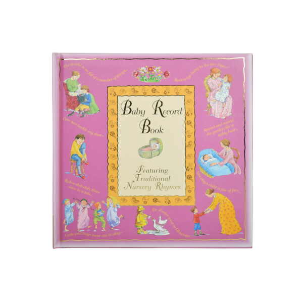 Baby Record Book - Pink-0