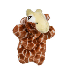 """Babys Word Soft Muppet Plush Toy Horse 10"""" - Brown-0"""