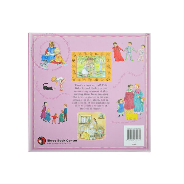 Baby Record Book - Pink-7782