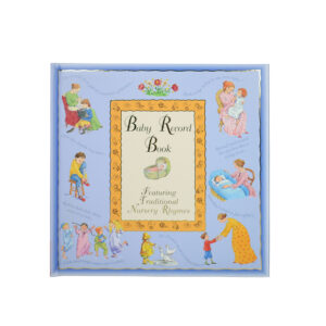 Baby Record Book - Blue-0