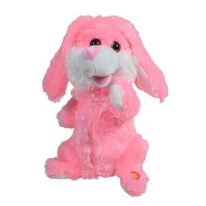 Dancing Musical Bunny (Rabbit) Toy 30cm - Pink-0