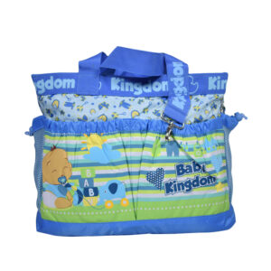 Baby Kingdom Light Weight Diaper Bag/Mother Bag - Blue-0