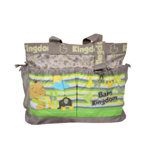 Baby Kingdom Light Weight Diaper Bag/Mother Bag - Brown-0