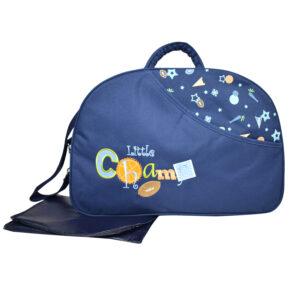 D Style Diaper Bag/Mother Bag - Blue-0