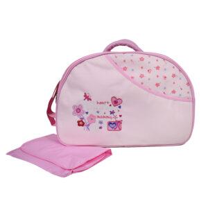 D Style Diaper Bag/Mother Bag - Pink-0