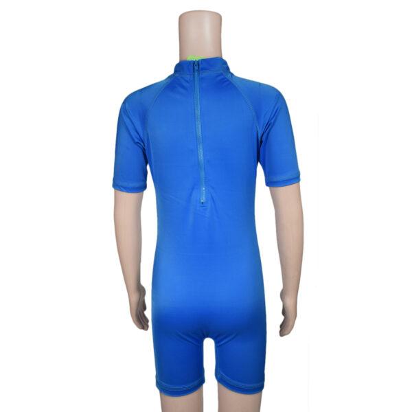 Swimming Dress Avenger Print - Blue-7882