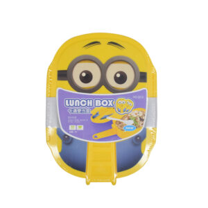 Air Tight Minions Lunch Box - Yellow-0