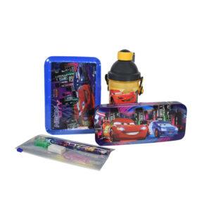 HM Car School Combo Set (Gift Pack) - Blue-0