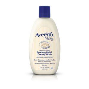 Aveeno Baby Soothing Relief 24 Hour Moisture Creamy Wash - 236 ml-0