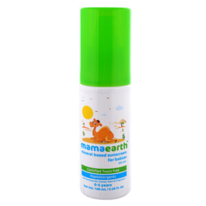 mamaearth Mineral Based Sunscreen For Babies - 100 ml-0