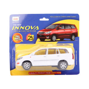 Centy Die Cast Miniature Innova Car Toy - White-0
