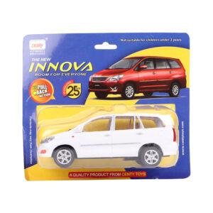 Centy Die Cast Miniature Innova Car Toy - White-0