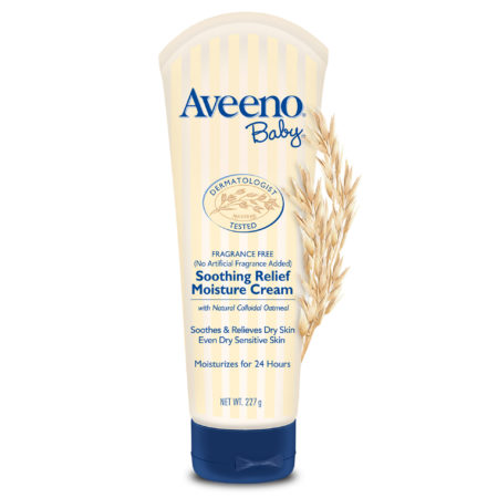 Aveeno Baby Soothing Relief Moisture Cream - 227 gm-0