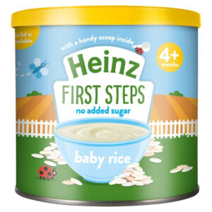Heinz First Steps Smooth Baby Rice (4m+) - 140g-0