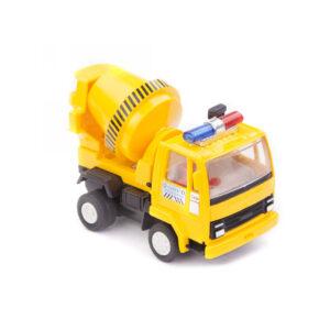 Centy Concrete Mixer Truck Pullback (Yellow)-0